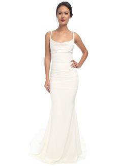 Nicole Miller Hampton Lace Back Gown