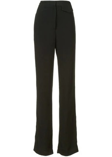 Nicole Miller high waisted palazzo trousers