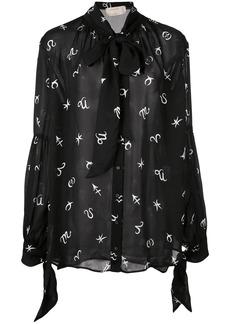 Nicole Miller horoscope blouse