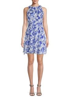 Nicole Miller Hunter Fit-&-Flare Dress