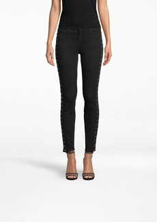 Nicole Miller Jeans With Hook Trim