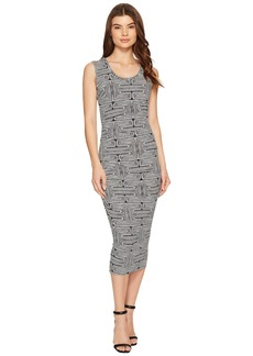Nicole Miller Kyle Maze Jersey Dress