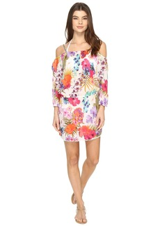 La Plage By Nicole Miller Braided Mini Tank Dress Cover-Up