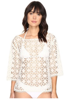 La Plage By Nicole Miller Crochet Beach Cover-Up