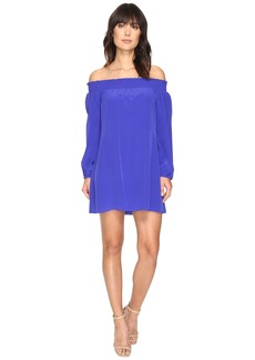 La Plage by Nicole Miller Rocky Off Shoulder Dress Cover-Up