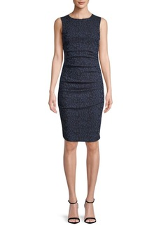 Nicole Miller Lauren Printed Sheath Dress