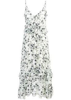Nicole Miller long floral dress