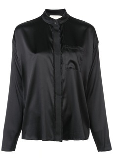 Nicole Miller longsleeved button-down blouse