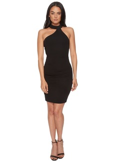 Nicole Miller Mock Neck Dress