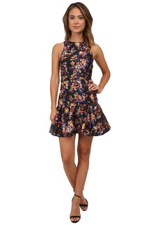 Nicole Miller 3D Floral Party Dress