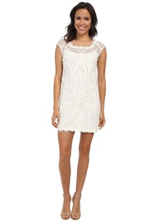 Nicole Miller Abby Placement Lace Dress