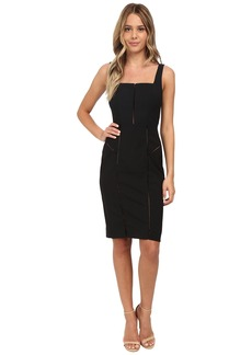 Nicole Miller Alaiya Square Neck Cocktail Dress
