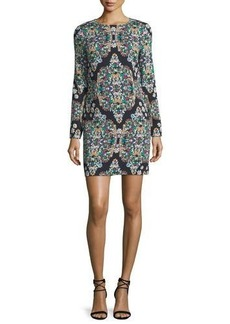 Nicole Miller Resplendent Crystals Shift Dress