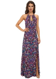 Nicole Miller Berry Bliss Halter Love Dress