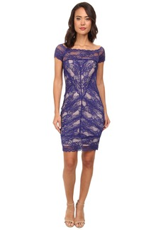 Nicole Miller Cam Stretch Lace Dress