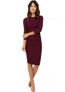 Christina Stretch Pebble Crepe Dress