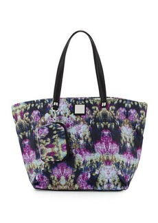 Nicole Miller City Life Quilted Tote Bag