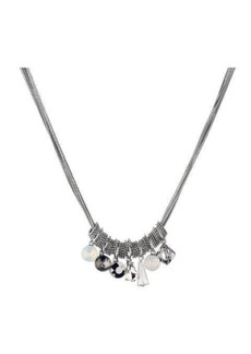 Nicole Miller Cluster Necklace