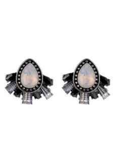 Nicole Miller Cluster Stud Earring