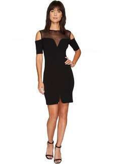 Nicole Miller Cold Shoulder Party Dress