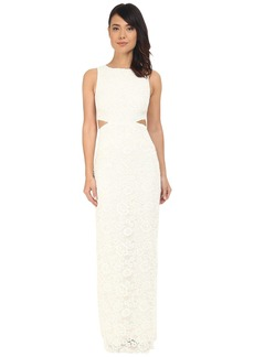 Nicole Miller Corded Lace Queen of the Night Gown