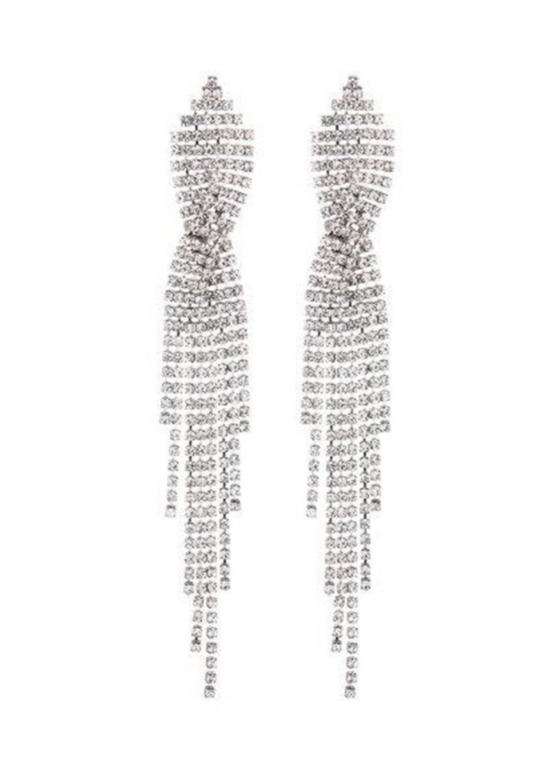 Nicole Miller Criss-Cross Chandelier Earring