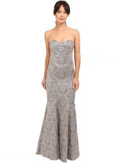 Nicole Miller Dakota Embroidered Gown