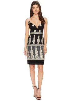 Nicole Miller Enchanted Embroidered Mini Dress