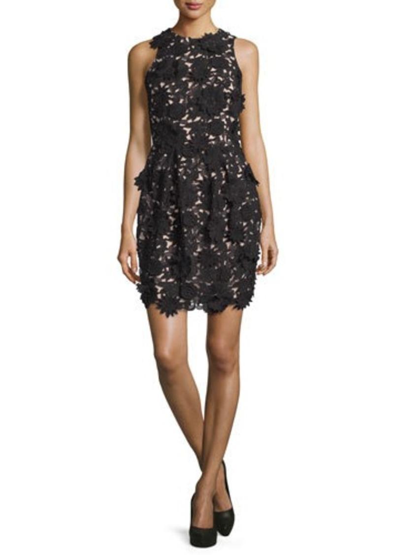 Nicole Miller Nicole Miller Floral-Embellished Cocktail Dress Now ...