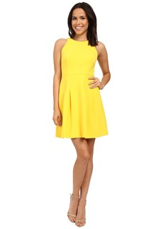 Nicole Miller Gwen Stretchy Tech Flare Dress