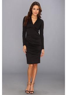 Nicole Miller Hadley Ponte L/S Dress