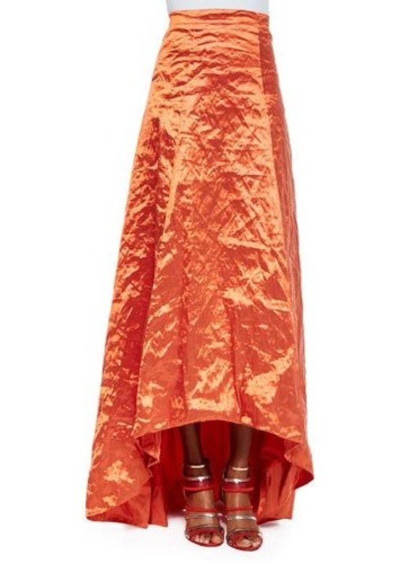 Nicole Miller High-Low Full Skirt