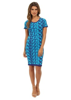 Nicole Miller Hinley Floral Knit Dress