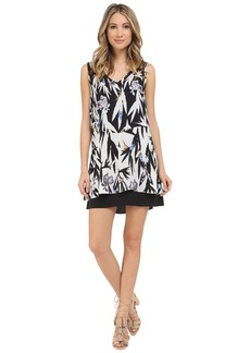 Nicole Miller Hummingbird Silk Dress