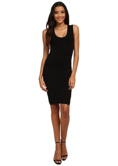 Nicole Miller Knit Textured Tank Dress