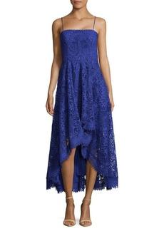 Nicole Miller Lace Hi-Lo Dress