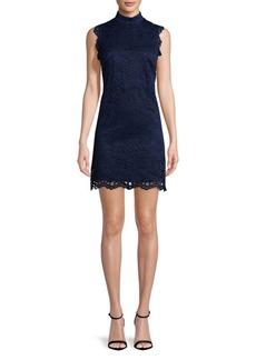 Nicole Miller Lace Sheath Dress