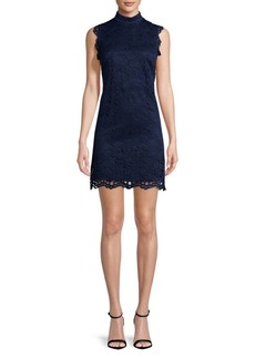 Nicole Miller Lace Sheath Dress