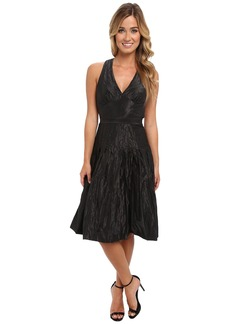 Nicole Miller Metal Taffeta Dress