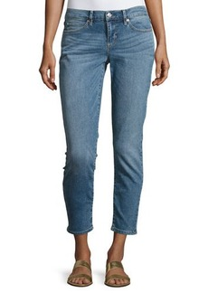 Nicole Miller Mid-Rise Skinny Jeans