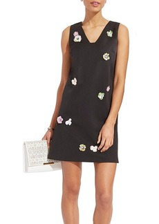 Nicole Miller New York™ Detail T-Shirt Floral Embellished Dress