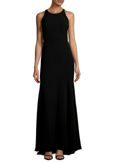 Nicole Miller Floor-Length Gown