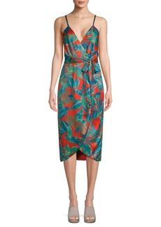 Nicole Miller New York Flora Wrap Dress