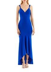 Nicole Miller New York Hi-Lo Hem Gown
