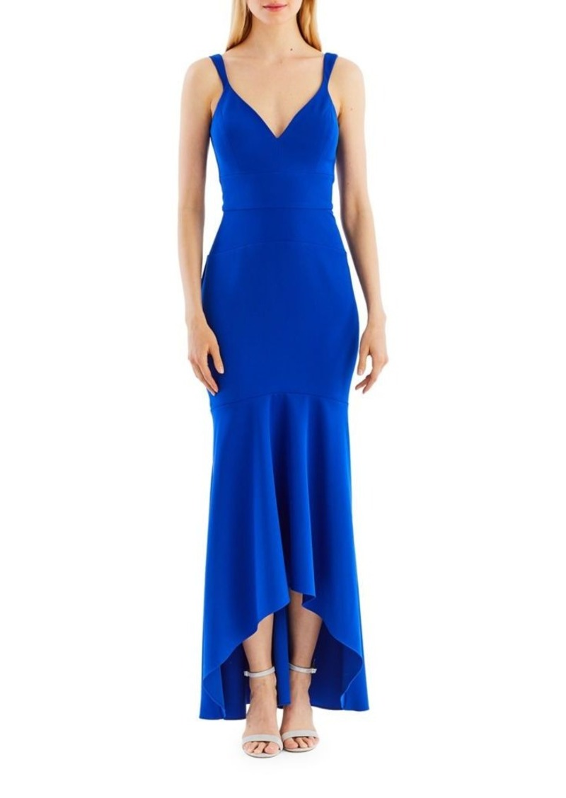 Lo lo lord and taylor party dresses - Nicole Miller New York Hi Lo Hem Gown