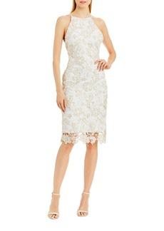 Nicole Miller New York Lace Sheath Dress