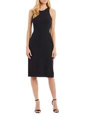 NICOLE MILLER NEW YORK Ruffle Back Cocktail Dress