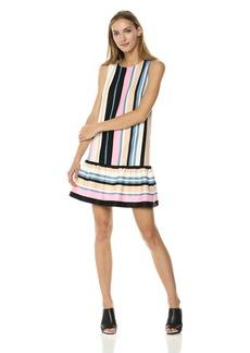 Nicole Miller New York Women's t-Shirt Dress with Ruffle
