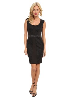 Nicole Miller Open Tech Weave Dress
