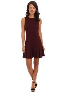 Nicole Miller Ponte A-Line Dress